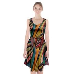 Vivid Colours Racerback Midi Dress