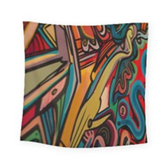 Vivid Colours Square Tapestry (Small)