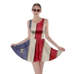 Usa Flag Skater Dress