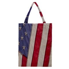 Usa Flag Classic Tote Bag