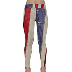 Usa Flag Classic Yoga Leggings