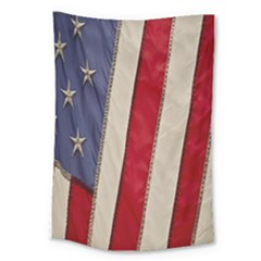 Usa Flag Large Tapestry