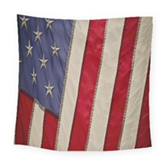Usa Flag Square Tapestry (Large)