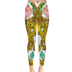 Traditional Thai Style Painting Leggings