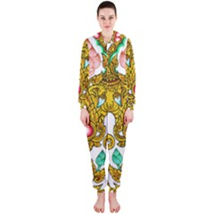 Traditional Thai Style Painting Hooded Jumpsuit (ladies)