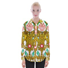 Traditional Thai Style Painting Shirts