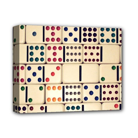 Old Domino Stones Deluxe Canvas 14  x 11