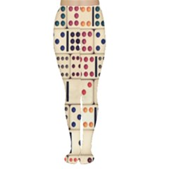 Old Domino Stones Women s Tights