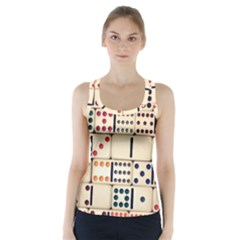 Old Domino Stones Racer Back Sports Top