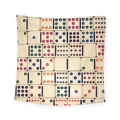 Old Domino Stones Square Tapestry (small)