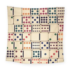 Old Domino Stones Square Tapestry (large)