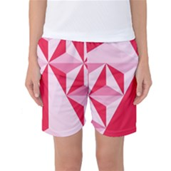 3d Pattern Experiments Women s Basketball Shorts