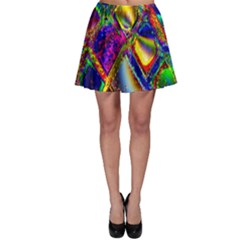 Abstract Digital Art Skater Skirt