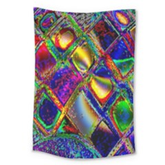 Abstract Digital Art Large Tapestry