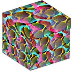 3d Pattern Mix Storage Stool 12