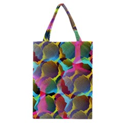 3d Pattern Mix Classic Tote Bag