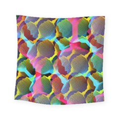 3d Pattern Mix Square Tapestry (small)