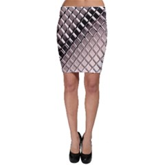 3d Abstract Pattern Bodycon Skirt