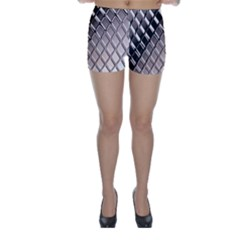 3d Abstract Pattern Skinny Shorts