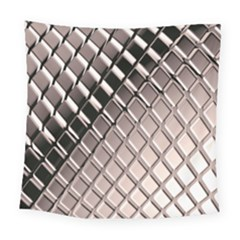 3d Abstract Pattern Square Tapestry (Large)