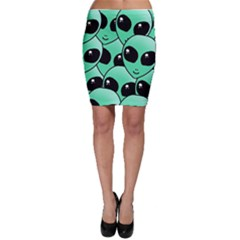 Alien Bodycon Skirt