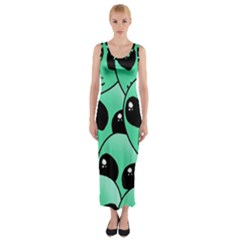 Alien Fitted Maxi Dress