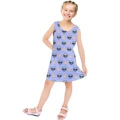 Alien Pattern Kids  Tunic Dress