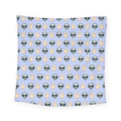Alien Pattern Square Tapestry (Small)