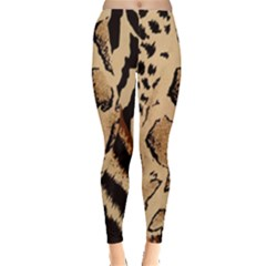 Animal Fabric Patterns Leggings