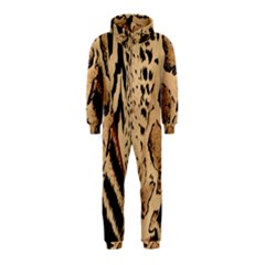 Animal Fabric Patterns Hooded Jumpsuit (Kids)