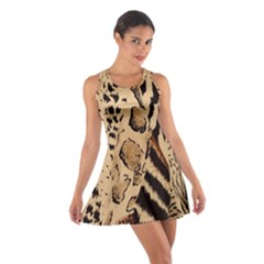 Animal Fabric Patterns Cotton Racerback Dress