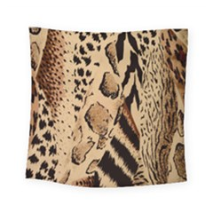 Animal Fabric Patterns Square Tapestry (Small)