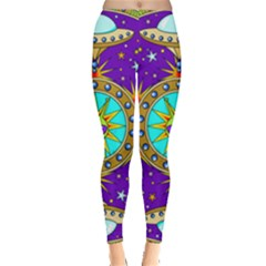 Alien Mandala Leggings