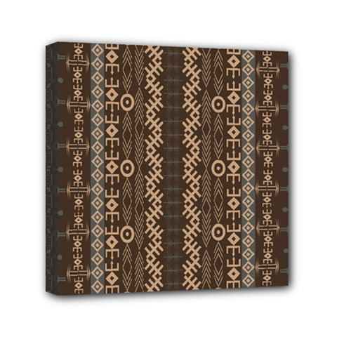 African Style Vector Pattern Mini Canvas 6  x 6