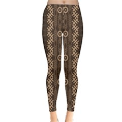 African Style Vector Pattern Leggings