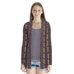 African Style Vector Pattern Cardigans