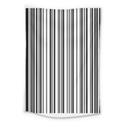 Barcode Pattern Large Tapestry