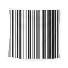 Barcode Pattern Square Tapestry (small)