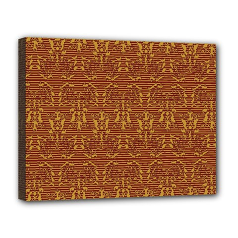 Art Abstract Pattern Canvas 14  x 11