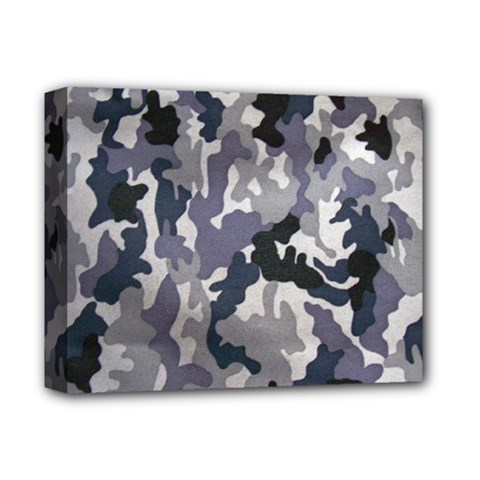 Army Camo Pattern Deluxe Canvas 14  X 11