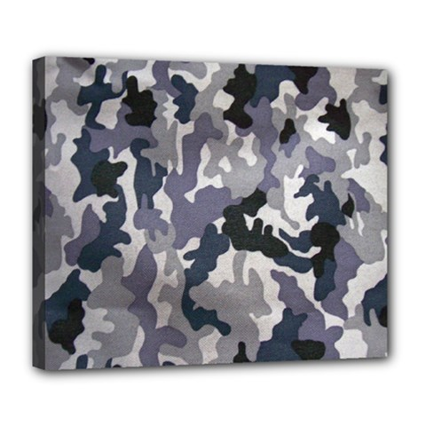 Army Camo Pattern Deluxe Canvas 24  x 20