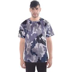 Army Camo Pattern Men s Sport Mesh Tee