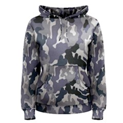 Army Camo Pattern Women s Pullover Hoodie