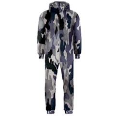 Army Camo Pattern Hooded Jumpsuit (Men)