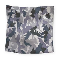 Army Camo Pattern Square Tapestry (Large)