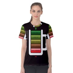Black Energy Battery Life Women s Cotton Tee