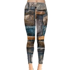 Brick Wall Pattern Leggings