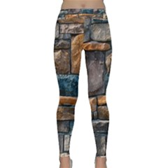 Brick Wall Pattern Classic Yoga Leggings