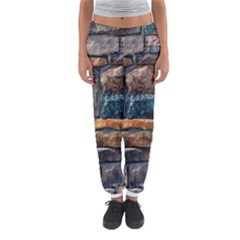 Brick Wall Pattern Women s Jogger Sweatpants