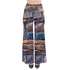 Brick Wall Pattern Pants